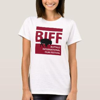 Camiseta del logotipo del festival de cine del