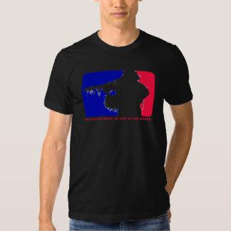 Camiseta del logotipo del francotirador de las playera