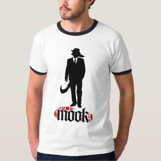 Camiseta del logotipo del lobo de Mook