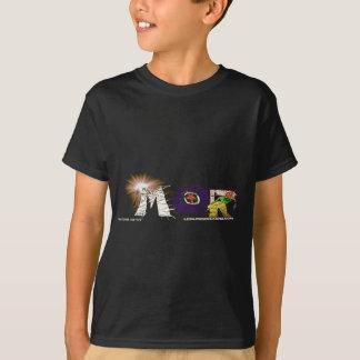 Camiseta del logotipo del MOR - negro Remeras