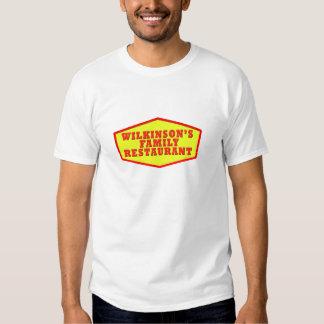 Camiseta del logotipo del restaurante de la poleras