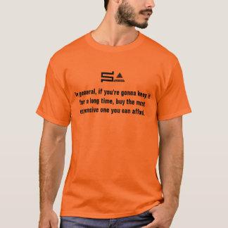 camiseta del logotipo del sysadmin del ordenador