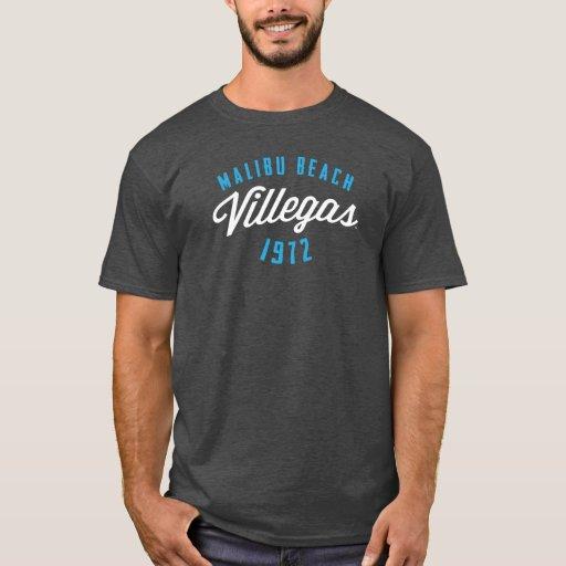 Camiseta del logotipo del vintage de la playa de