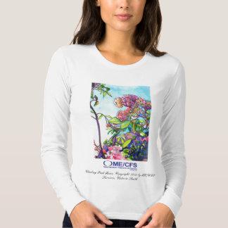 Camiseta del LS de las señoras de MCWPA Playeras