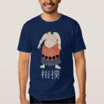 Camiseta del luchador del sumo remeras