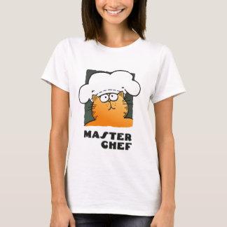 Camiseta del maestro cocinero de la camiseta el |