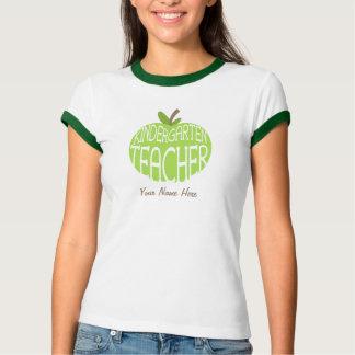 Camiseta del maestro de jardín de infancia - Apple Polera