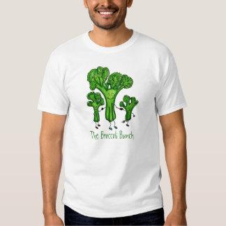 Camiseta del manojo del bróculi playera