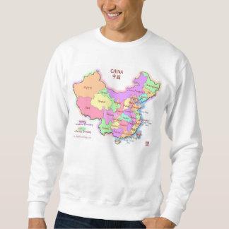 Camiseta del mapa de China Jersey
