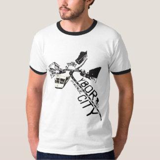 Camiseta del mapa de la arcón de los hombres