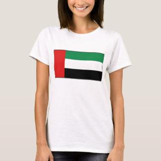 Camiseta del mapa de la bandera x de los UAE