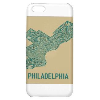 Camiseta del mapa de Philly