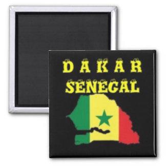 CAMISETA DEL MAPA DE SENEGAL (DAKAR) Y ETC IMANES