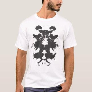 Camiseta del mapa del mundo de Rorschach
