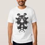 Camiseta del mapa del mundo de Rorschach Playeras