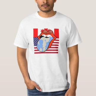 Camiseta del maratón de la lengua de Alburgh Playeras