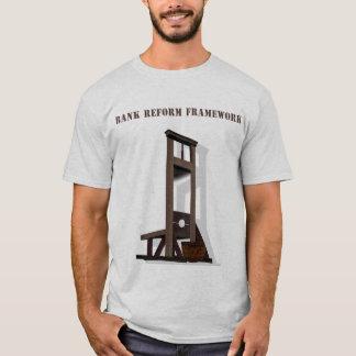 Camiseta del marco de la reforma del banco, marco