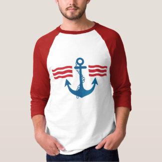 Camiseta del marinero playera