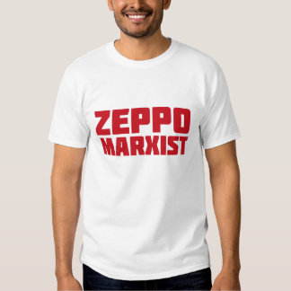 Camiseta del MARXISTA de ZEPPO Remera