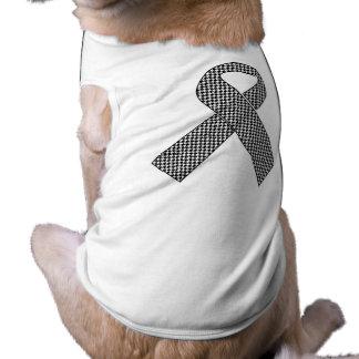 Camiseta del mascota de la cinta de la ayuda de la playera sin mangas para perro