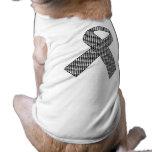 Camiseta del mascota de la cinta de la ayuda de la camisa de perro