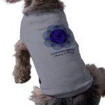"Camiseta del mascota del ""descortezamiento"" camisetas de perro"
