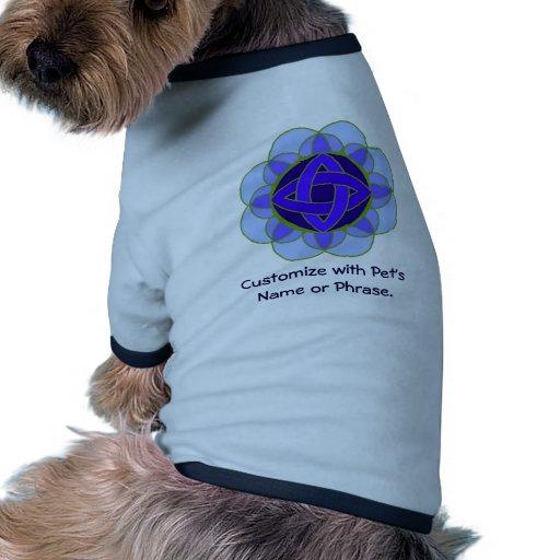 "Camiseta del mascota del ""descortezamiento"" camisa de perro"