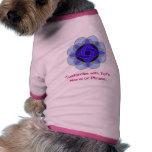 "Camiseta del mascota del ""descortezamiento"" camisetas de perrito"