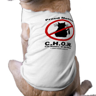Camiseta del mascota del logotipo de los enemigos playera sin mangas para perro