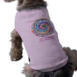"Camiseta del mascota del ""Lollipop"" Camisa De Perro"