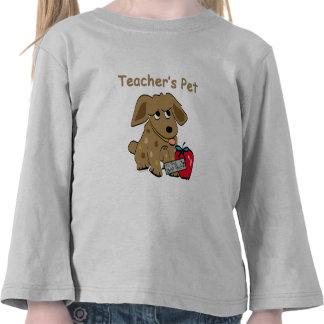 Camiseta del mascota del profesor