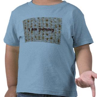 Camiseta del Matzo del niño para el Passover, azul