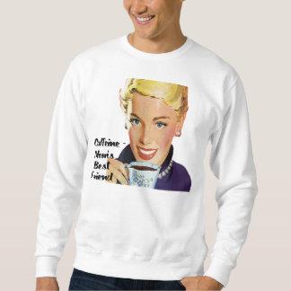 Camiseta del mejor amigo de las Cafeína-Mamáes Pulover Sudadera