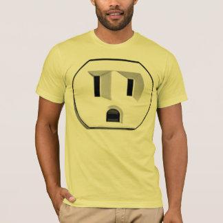 Camiseta del mercado eléctrico