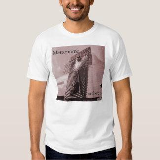 Camiseta del metrónomo camisas