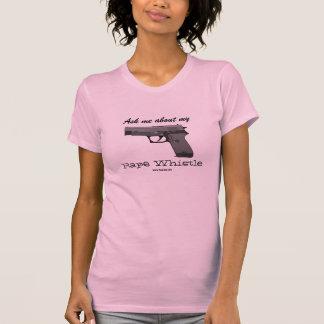 Camiseta del mi silbido de las mujeres de GunLink