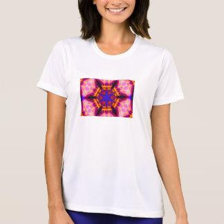 Camiseta del microporo de la mandala de la