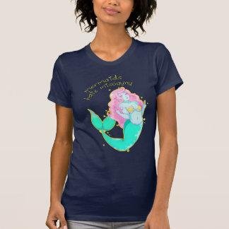 Camiseta del Misogyny del odio de las sirenas Remera