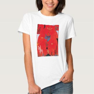 Camiseta del mito de la flor de Paul Klee Playeras