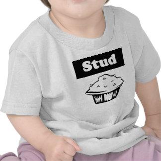 Camiseta del mollete del perno prisionero del bebé