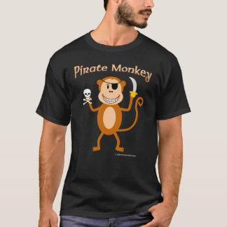 Camiseta del mono del pirata