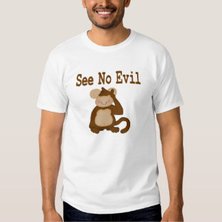 Camiseta del mono poleras