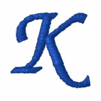 """Camiseta del monograma - """"K """""""
