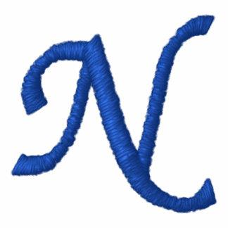 """Camiseta del monograma - """"N """""""