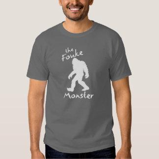 Camiseta del monstruo de Fouke Playera