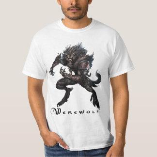 Camiseta del monstruo - hombre lobo playeras