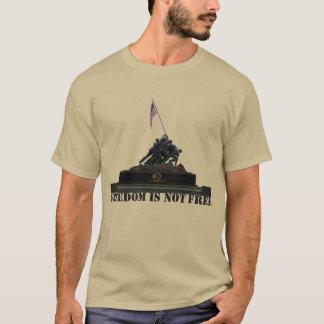 Camiseta del monumento de guerra del Cuerpo del