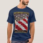 Camiseta del monumento de los veteranos del