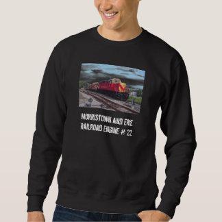 Camiseta del motor #22 del ferrocarril de sudaderas encapuchadas