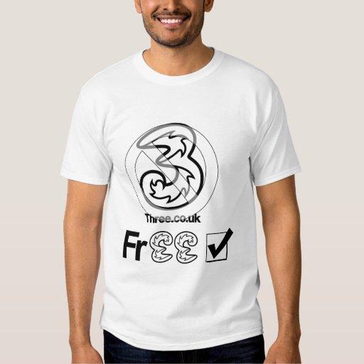 Camiseta del móvil de ThreeFree Remeras